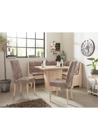 Kampinis virtuvės suolas su kėdėmis »C...