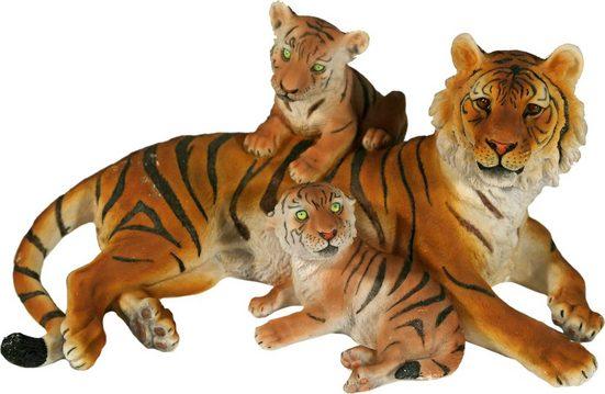 Home affaire Tierfigur »Tiger mit Jungend liegend«