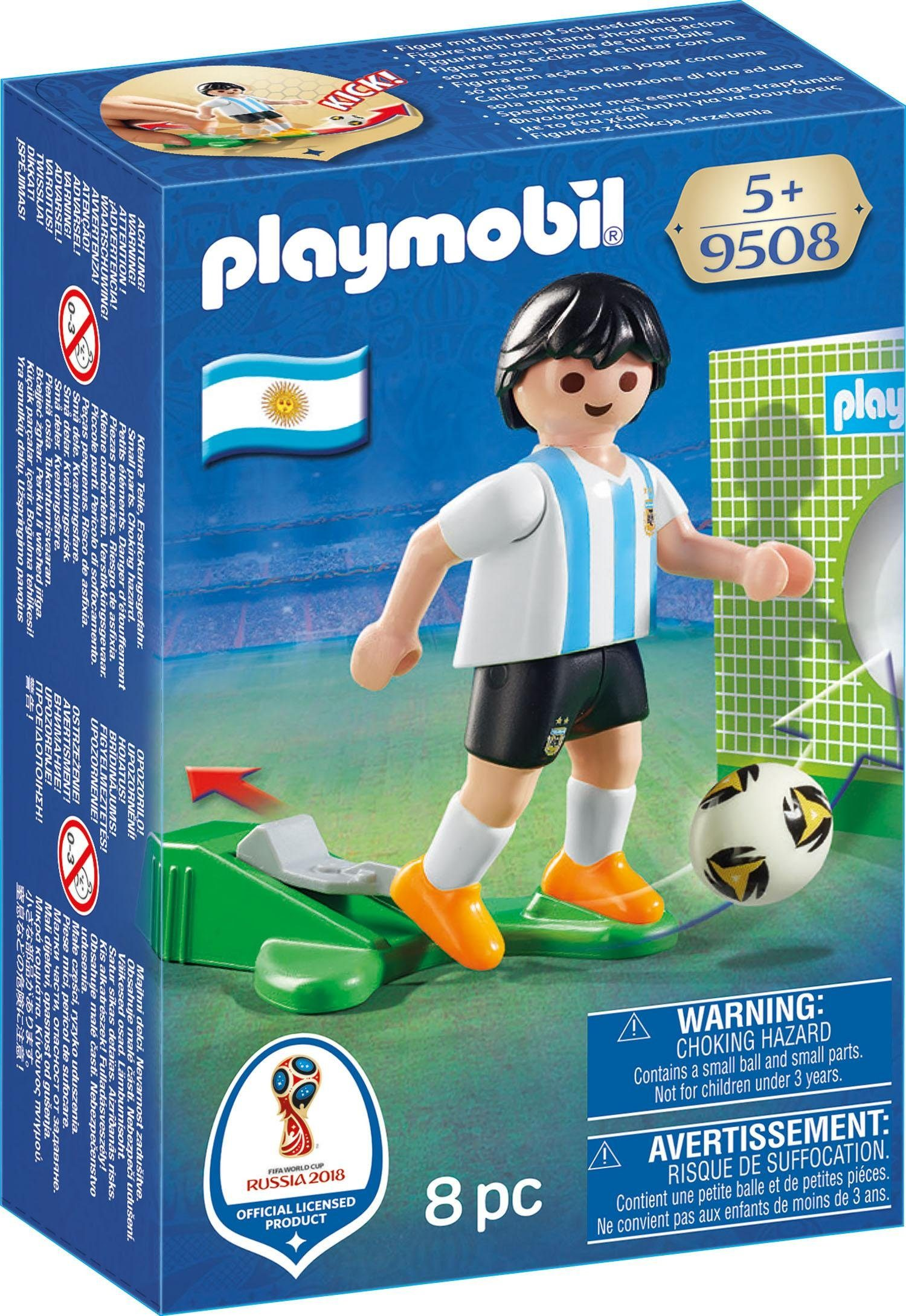 Playmobil® Nationalspieler Argentinien (9508), »Sports & Action - 2018 FIFA World Cup Russia™«