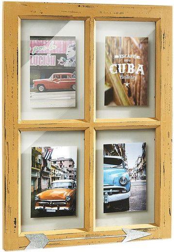 locker Bilderrahmen, für 4 Bilder, Bilderhalter Window für 4 Bilder