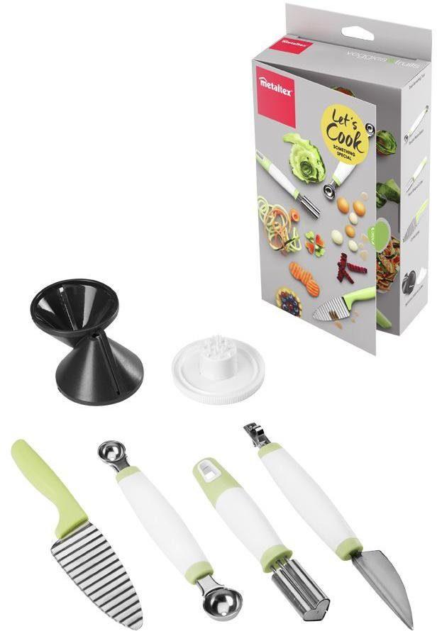 metaltex Deko Food Kochbox, 5-teilig