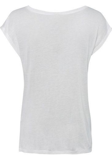 Key Largo Print-Shirt, mit Print und Stitching
