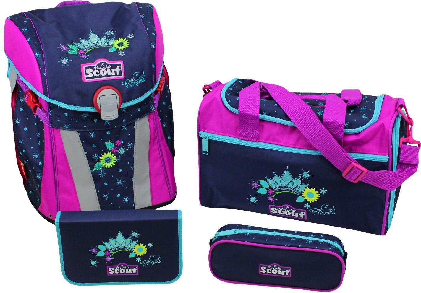 Scout Schulrucksack Set (4-tlg.), »Sunny, Cool Princess«