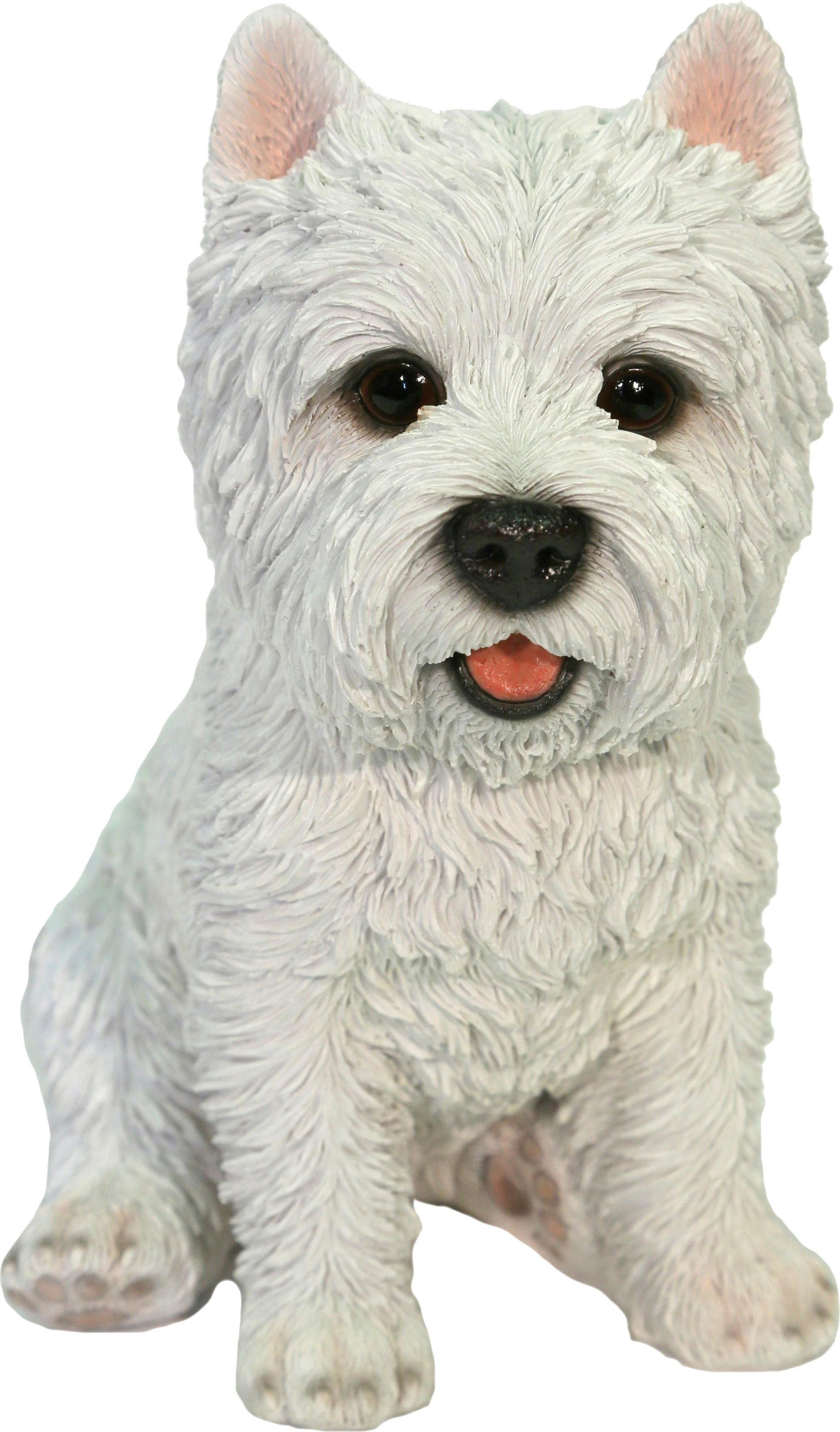 Home affaire Dekofigur »Hund Cesar weiß«, Höhe 24 cm