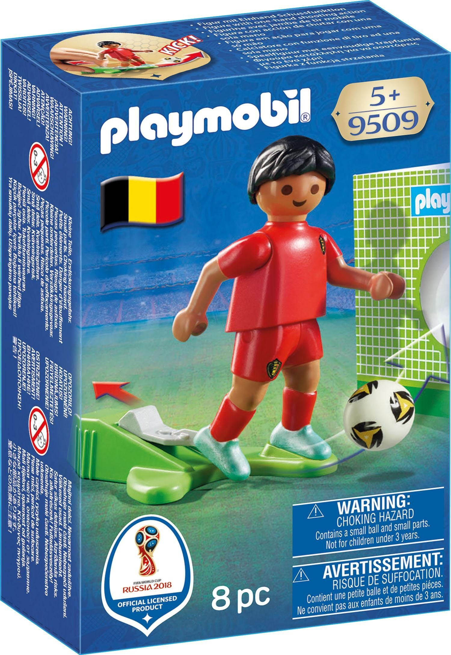 Playmobil® Nationalspieler Belgien (9509), »Sports & Action - 2018 FIFA World Cup Russia™«