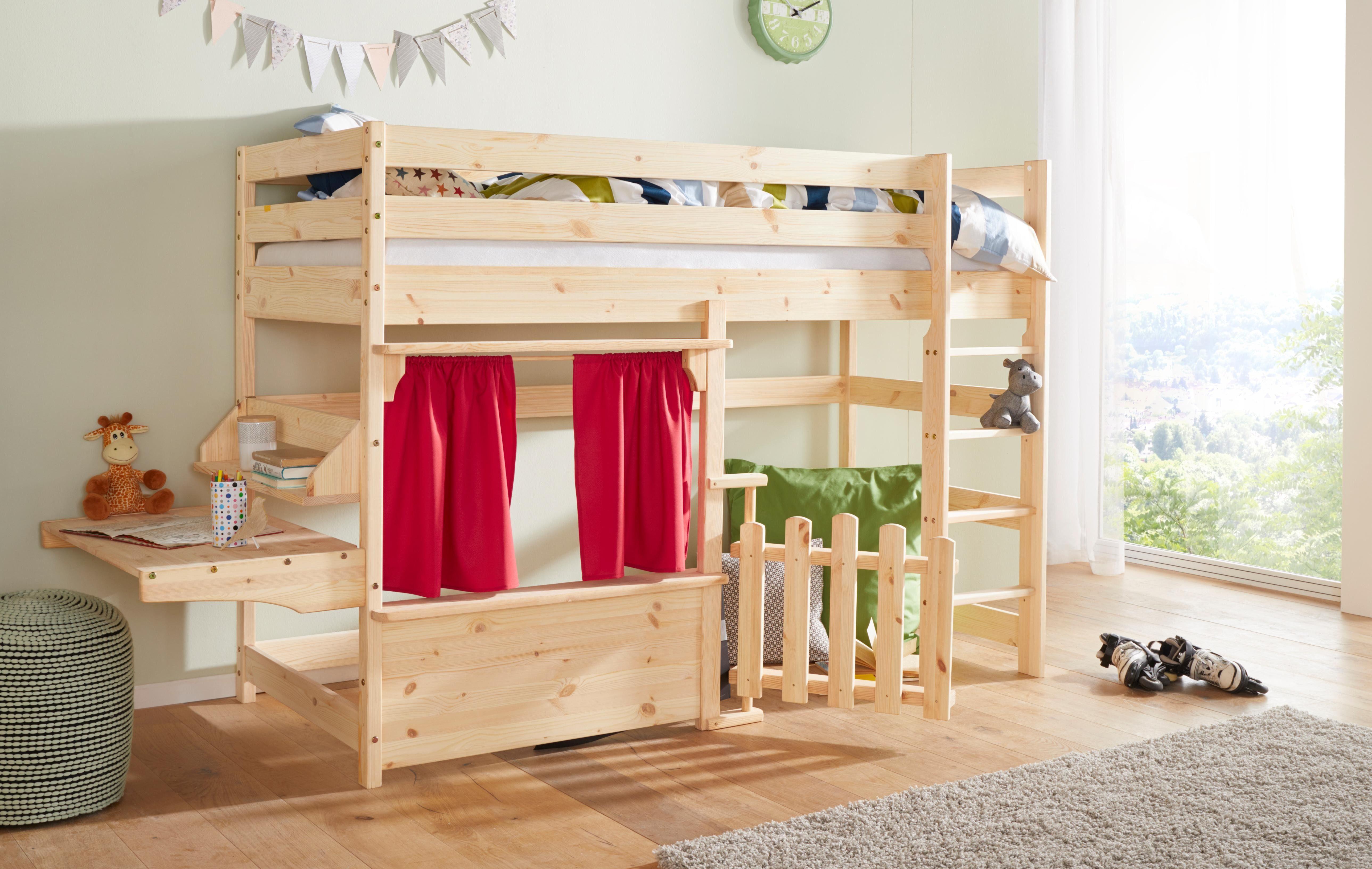 Etagenbett Holz Bio : Kinderbett und jugendbett aus massivholz zwergenmöbel