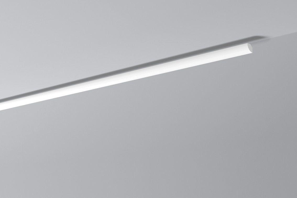 DECOFLAIR Set: Kantenleiste »Decoflair®Zierleiste D1«, 4 Stück, 20 x 20 mm, Länge: 2 m
