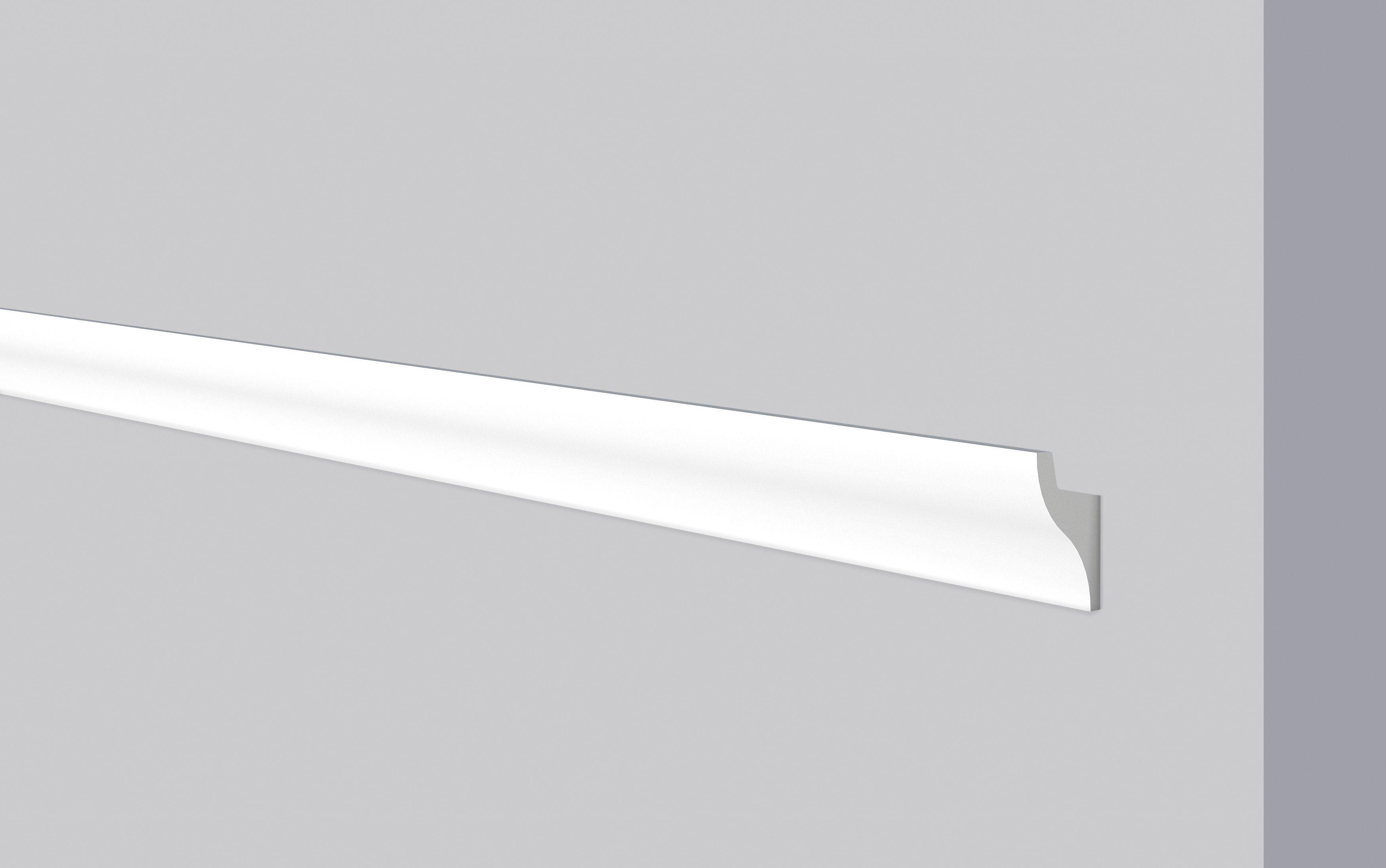 DECOFLAIR Set: Kantenleiste »Decoflair®Lichtleiste CL11«, 5 Stück, 32,5 x 50 mm, Länge: 1 m