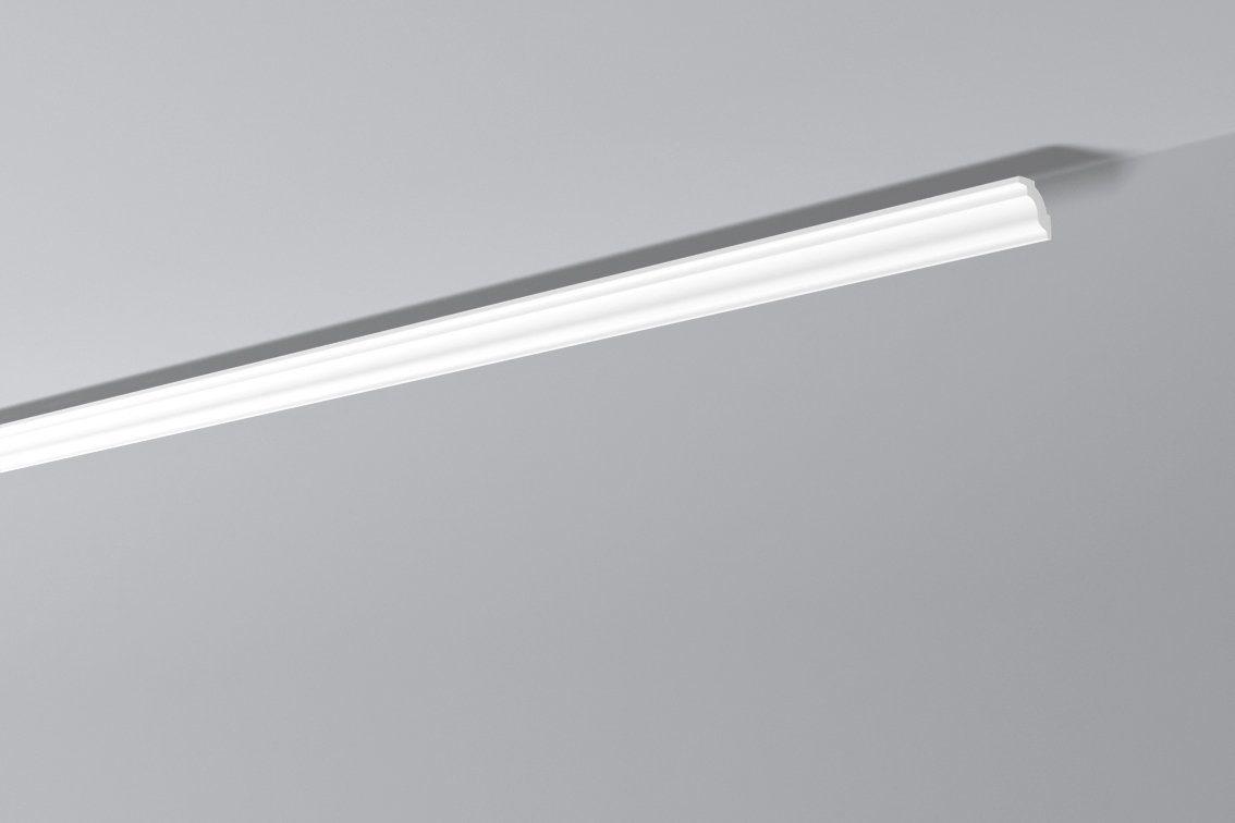 DECOFLAIR Set: Kantenleiste »Decoflair®Zierleiste D4«, 4 Stück, 35 x 30 mm, Länge: 2 m