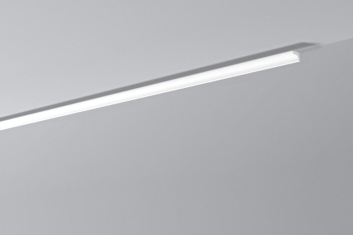 DECOFLAIR Set: Kantenleiste »Decoflair®Zierleiste D0«, 4 Stück, 25 x 20 mm, Länge: 2 m