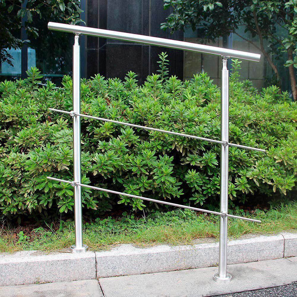 HOME DELUXE Treppengeländer , LxH: 120x102,5 cm, mit Querstreben