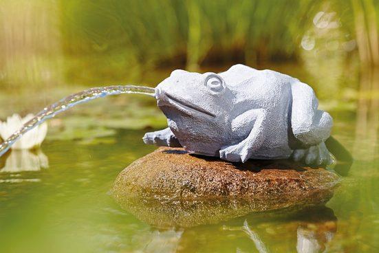OASE Wasserspiel , Wasserspeier Frosch