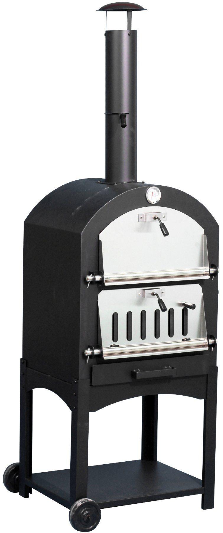 EL FUEGO Pizzaofen »Napoli«, BxTxH: 56x38x35 cm