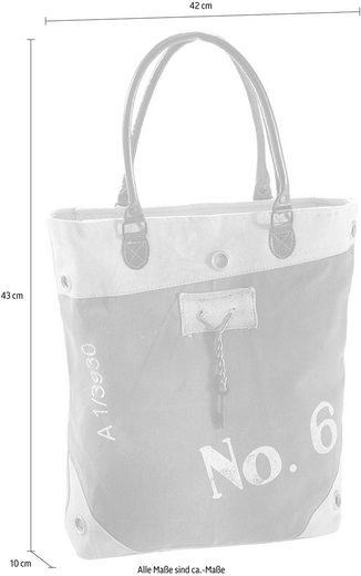 Tasche Vintage No Mit Home Leder Lederhenkel 6 Affaire Canvas Und Aus F0Fxpw
