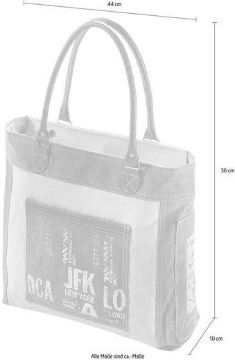 Home Tasche Mit Leder Vintage Jfk Canvas Aus Und Lederhenkel Affaire wrwqEH4