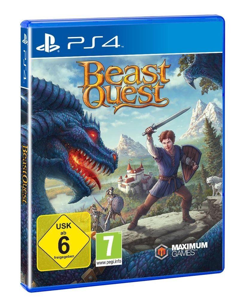 Maximum Games Playstation 4 - Spiel »Beast Quest«
