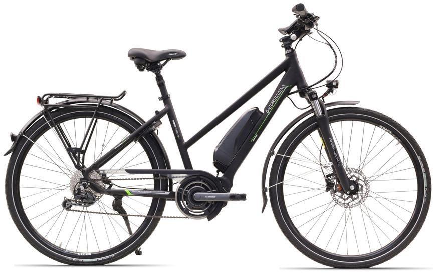 hawk bikes e bike trekking lady steps 9 gang. Black Bedroom Furniture Sets. Home Design Ideas