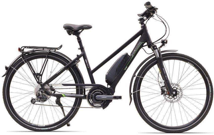 HAWK Bikes E-Bike »Trekking Lady STEPS«, 9 Gang, Kettenschaltung