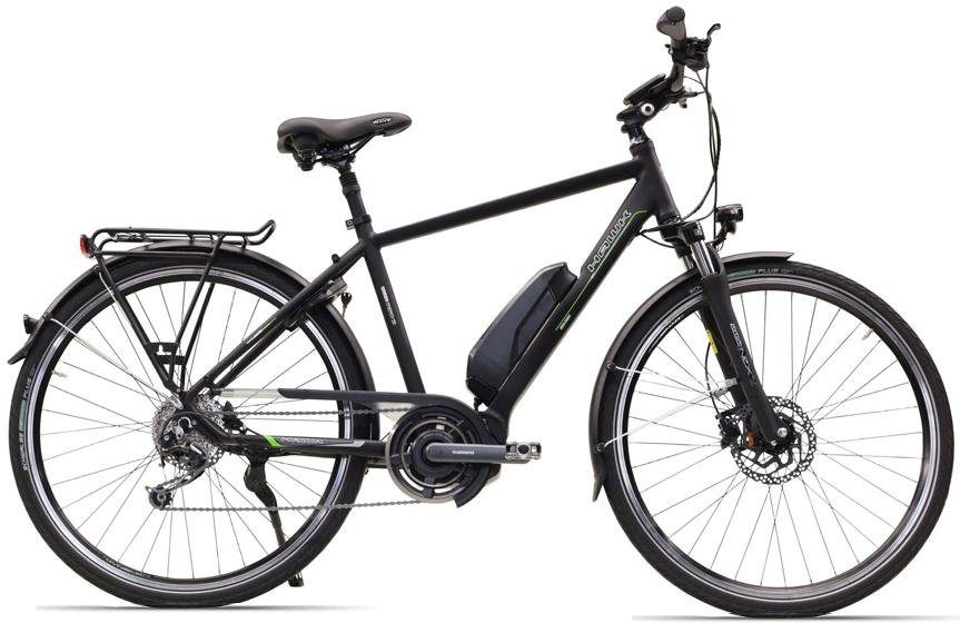 HAWK Bikes E-Bike »Trekking Gents STEPS«, 9 Gang, Kettenschaltung