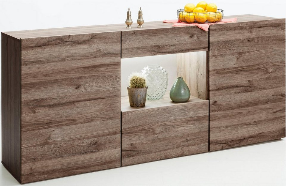 set one by musterring sideboard tampa breite 180 cm online kaufen otto. Black Bedroom Furniture Sets. Home Design Ideas