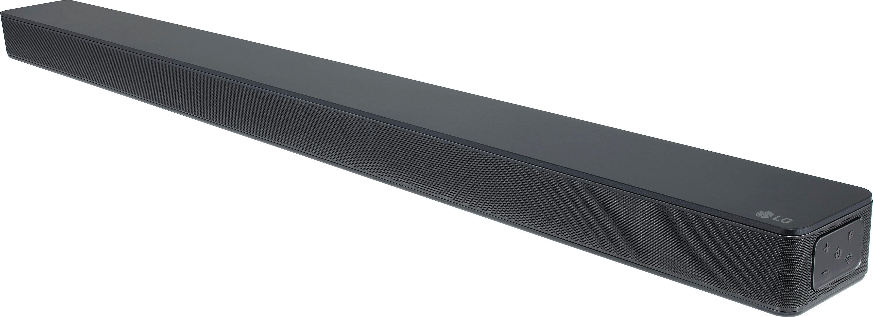 LG SK6F 2.1 Soundbar (Bluetooth, WLAN (WiFi), LAN (Ethernet), Chromecast, Hi-Res, Google Assistant, Sprachsteuerung, 360 W)