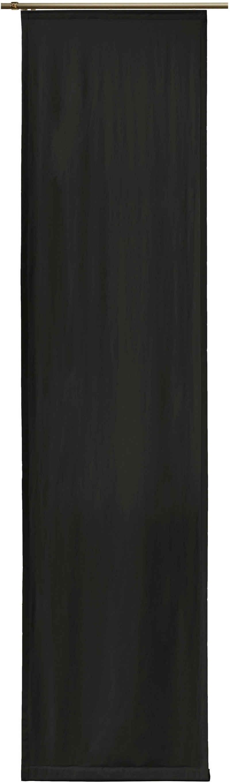 Schiebegardine »Newbury«, Wirth, Klettband (1 Stück), Ohne Befestigungszubehör, Breite: 57 cm