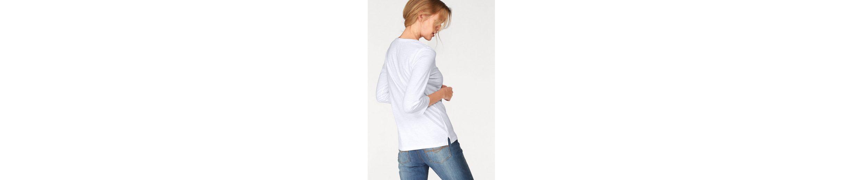 Cheer 3/4-Arm-Shirt, mit angesagtem Front-Print