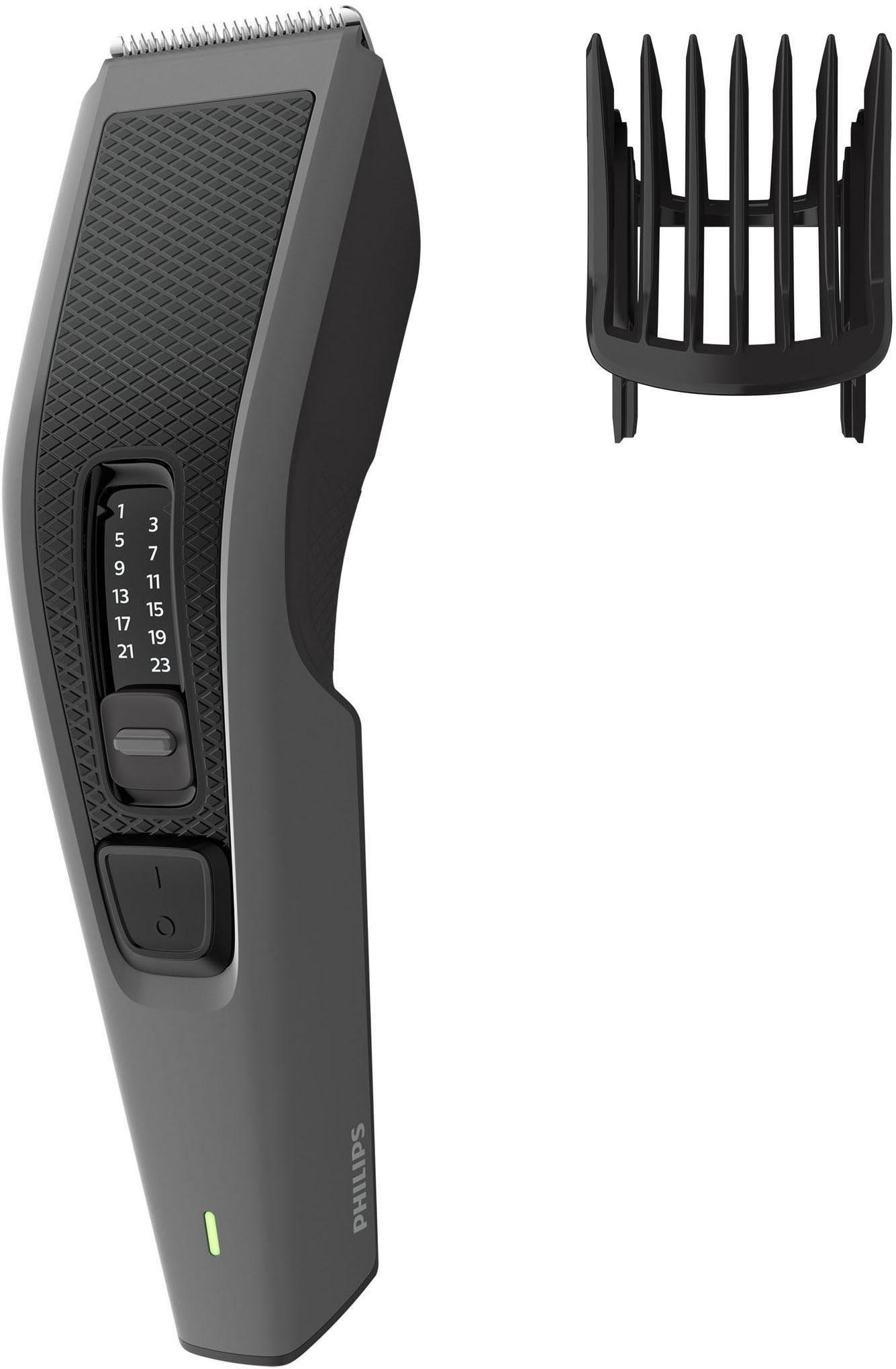 Philips Haar- und Bartschneider HC3520/15, Trim-n-Flow-Technologie