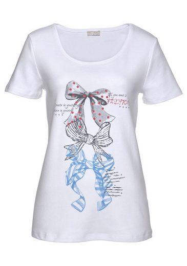 Cheer T-Shirt, mit Glitzersteinchen