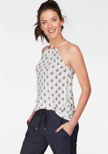 Damen Aniston by BAUR Spaghettitop mit Alloverdruck weiß | 08698826359765