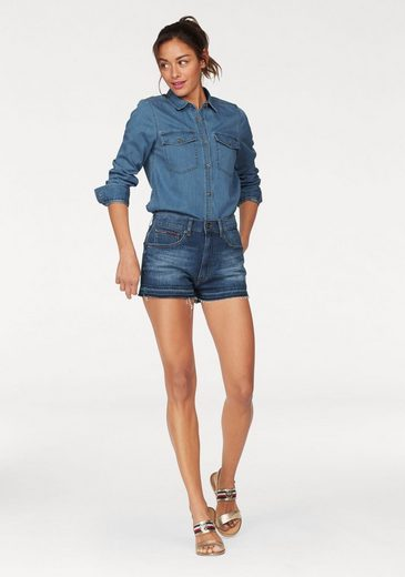 Tommy Jeans Bluse TJW DENIM SHIRT LIGHT