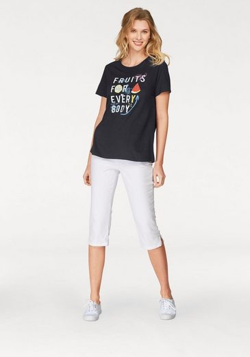 Cheer T-Shirt, mit Kaviar-Print