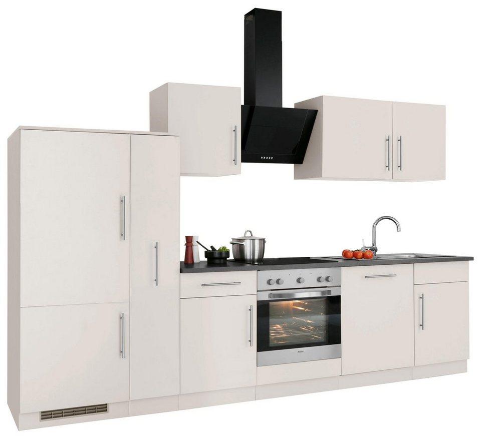 wiho k chen k chenzeile cali mit e ger ten breite 310. Black Bedroom Furniture Sets. Home Design Ideas