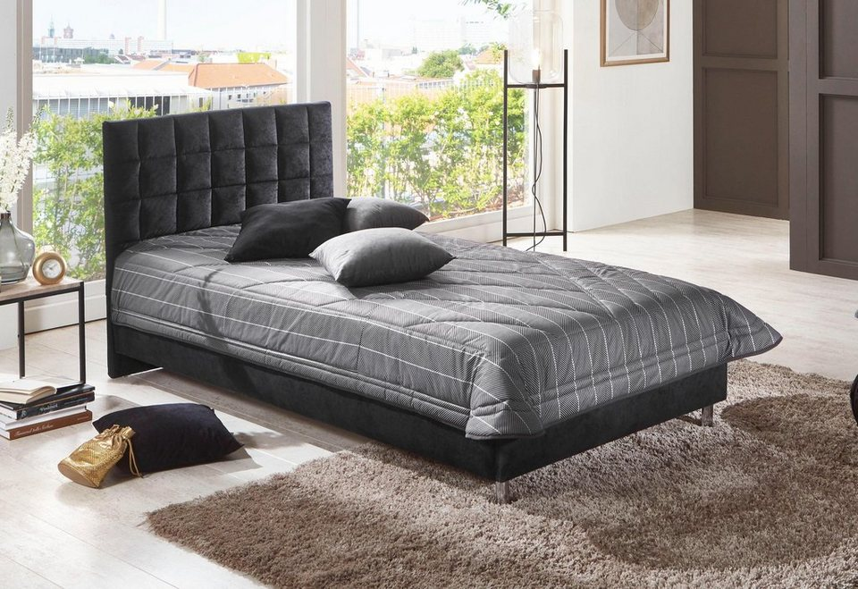 westfalia schlafkomfort polsterbett in diversen. Black Bedroom Furniture Sets. Home Design Ideas