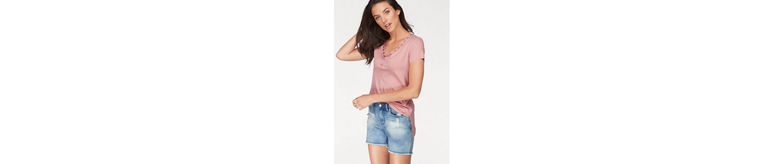 Aniston Out R眉cken mit Shirt im Cut T T mit Shirt Cut Aniston TPwtnq