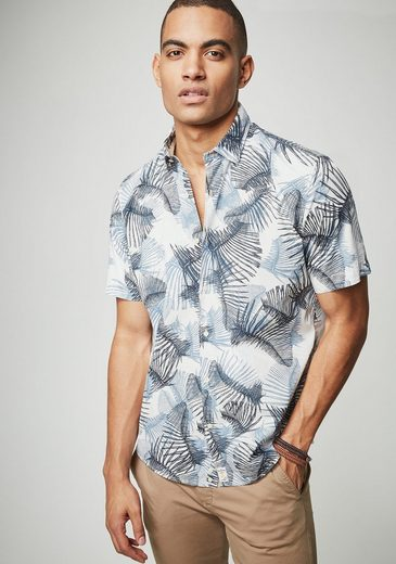 Pierre Cardin Shirt With Floral Print - Modern Fit