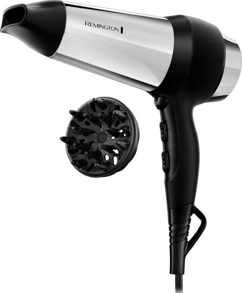 remington -  Haartrockner D4200, 2000 W, schnelleres Trocknen der Haare durch Ionen-Generator