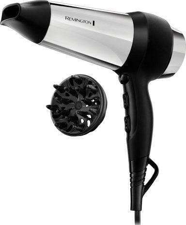 Remington Haartrockner D4200, 2000 W, schnelleres Trocknen der Haare durch Ionen-Generator