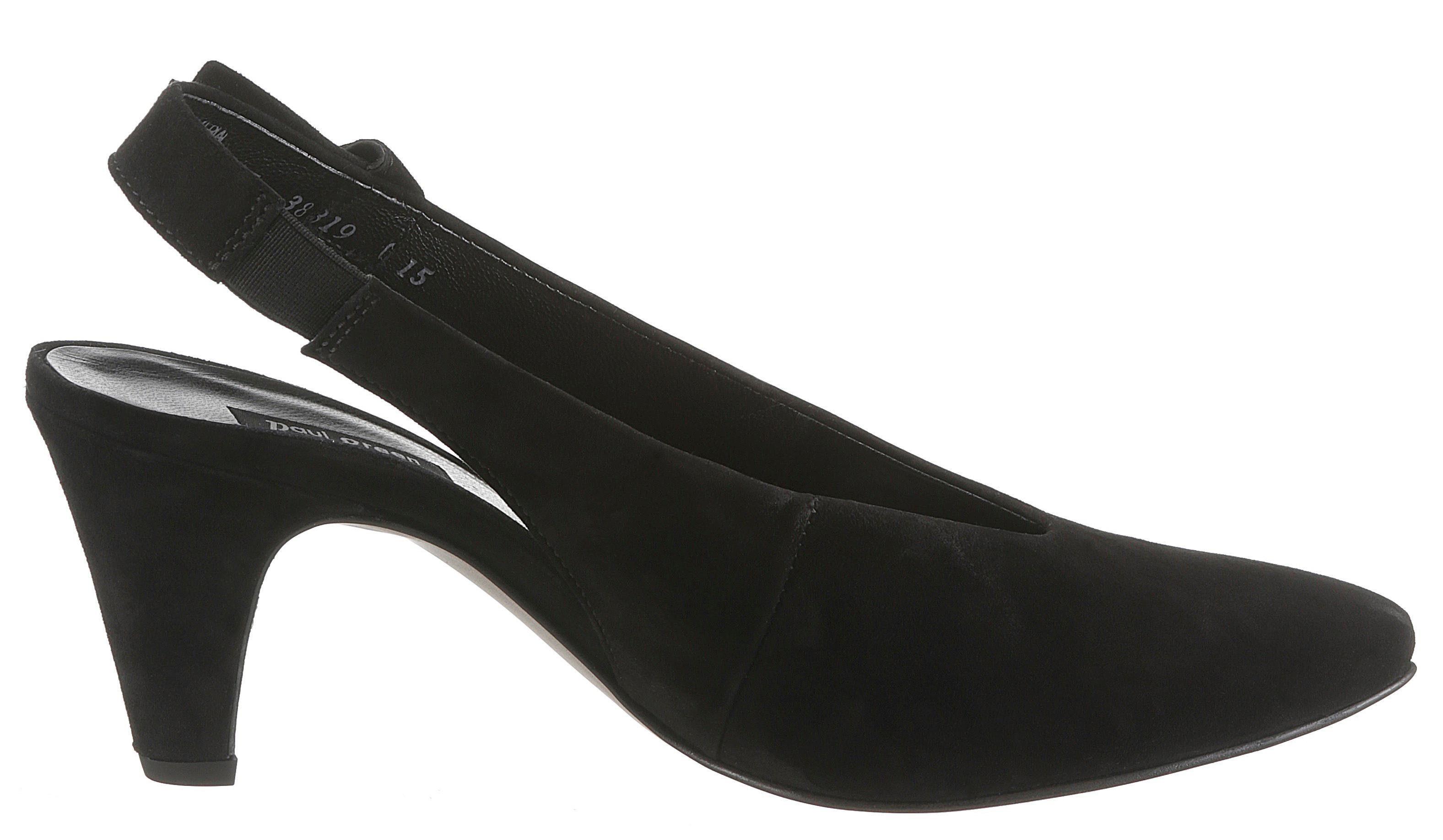 Paul Green Slingpumps, in spitzer Form kaufen  schwarz