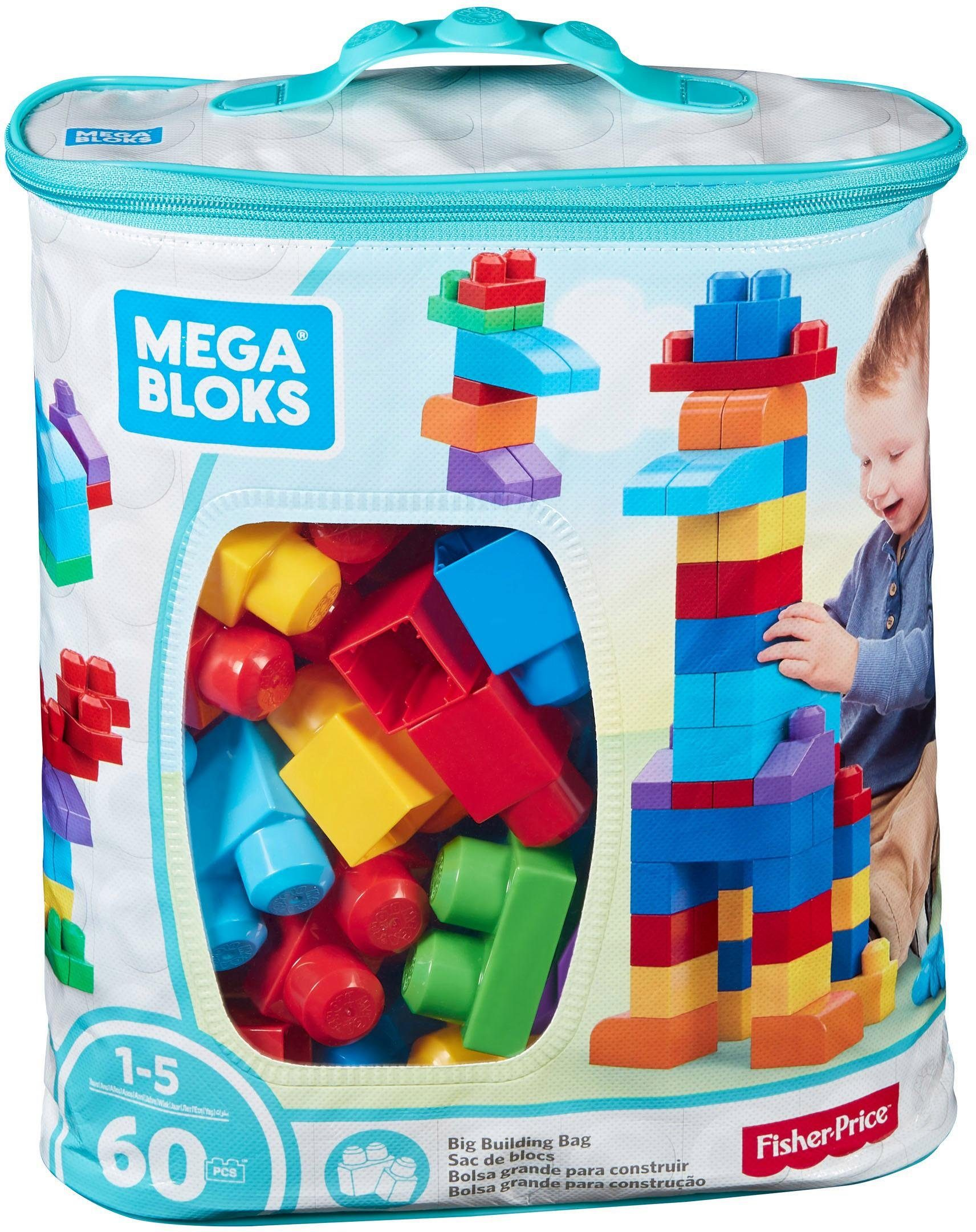 Fisher Price, Bausteinetasche, »Mega Bloks, First Builders«