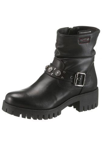 S.OLIVER Baikerių stiliaus batai