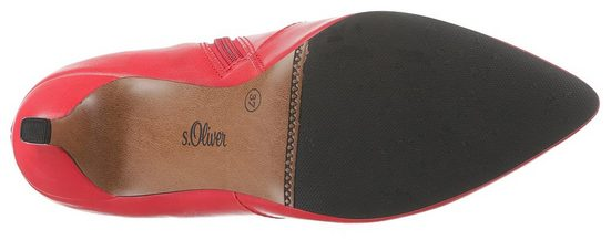 Form Spitzer Red In oliver Stiefelette S Label 6qZz78wn