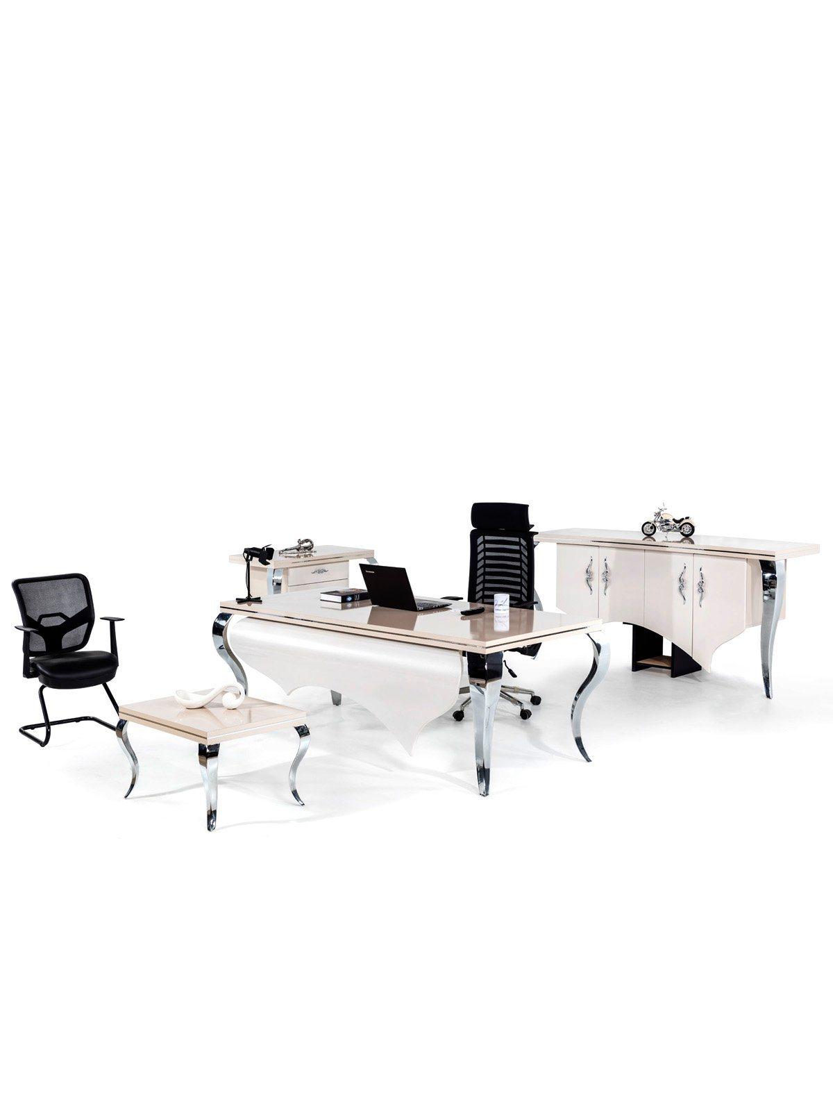 roombird Edles Büromöbel-Set für Ihr Büro »Bueromoebel Set Inci« | Büro > Büromöbel-Serien | Holz | roombird