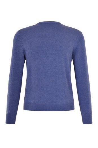 NAVIGAZIONE V-Ausschnitt-Pullover, weiche Strickware, perfekte Passform