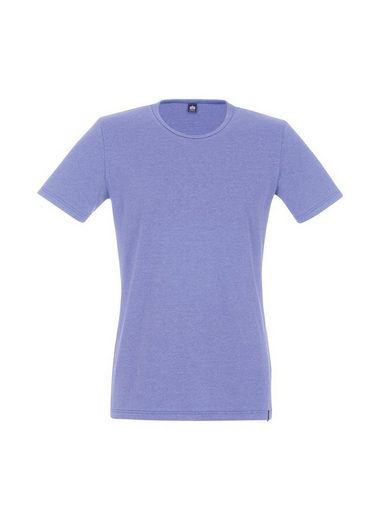 TRIGEMA Halbarm T-Shirt Melange