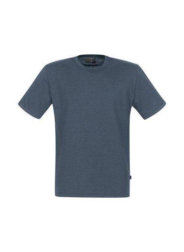 TRIGEMA Melange T-Shirt aus DELUXE Single Jersey
