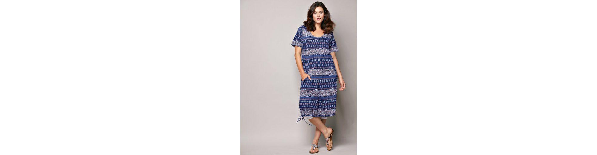 Spielraum 2018 Janet und Joyce by Happy Size Kleid mit Allover-Print Billig Verkaufen Mode-Stil e5j5CU
