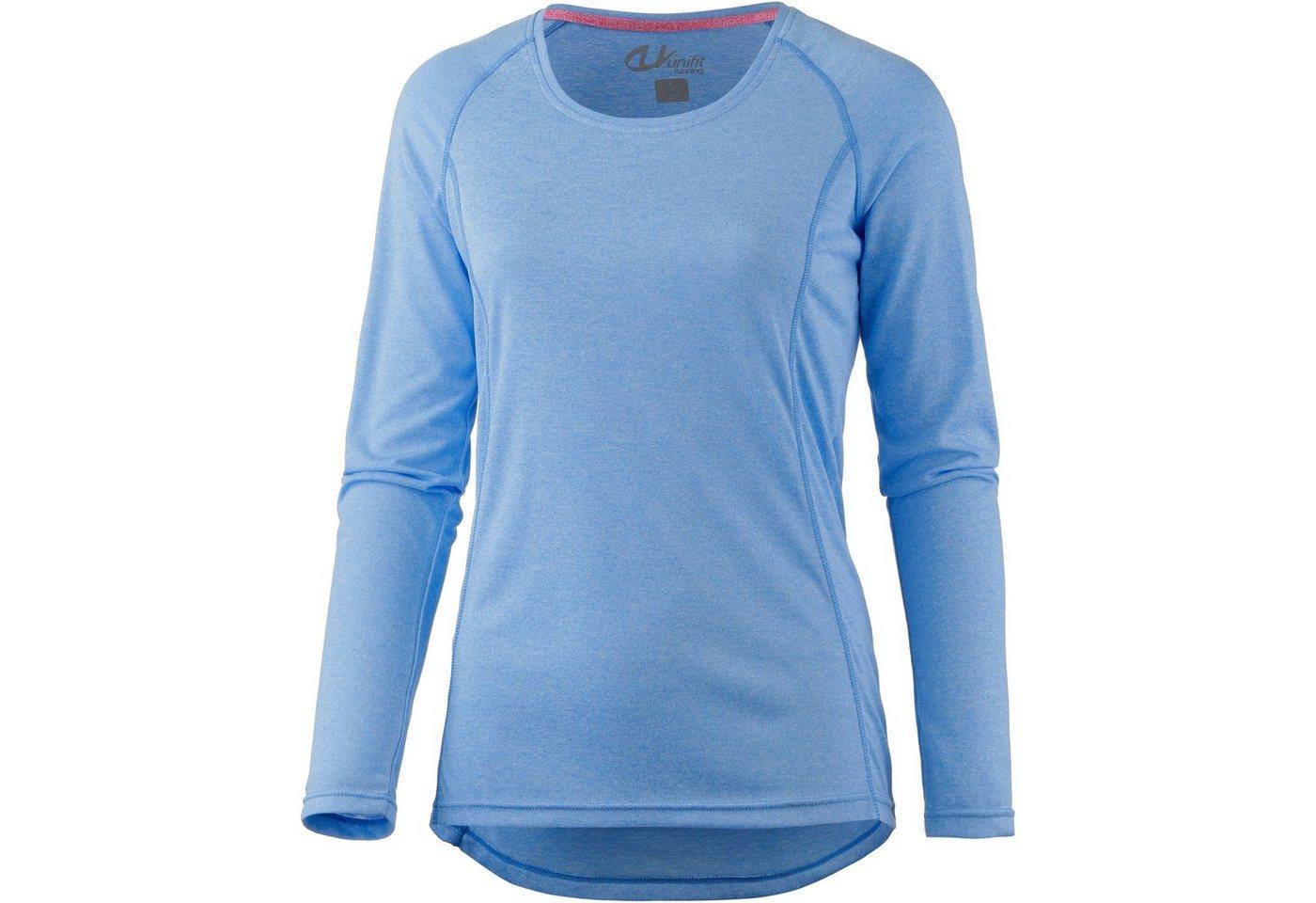 unifit Laufshirt | Sportbekleidung > Sportshirts > Laufshirts | Blau | Polyester | unifit