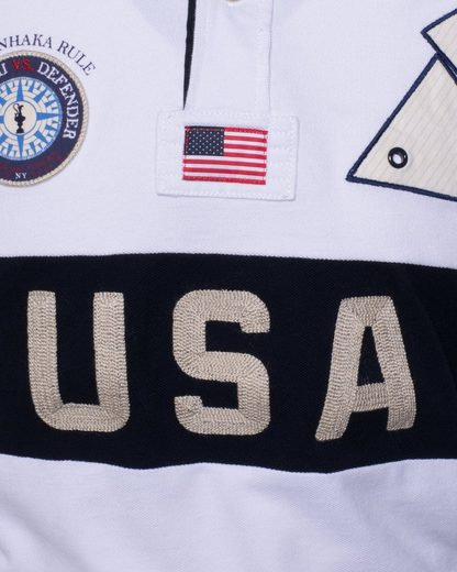 Code-zero Poloshirt America´s Cup Ed.9, Patches