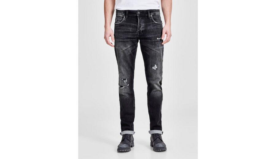 Freies Verschiffen Neuestes Jack & Jones TIM LEON GE 412 Slim Fit Jeans Neue Ankunft Art Und Weise Finish Günstig Online AIFWJQ